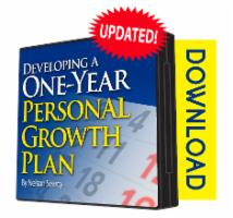 Developing a One Year Personal Growth Plan