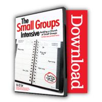The Small Groups Intensive