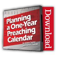 Planning a One Year Preaching Calendar